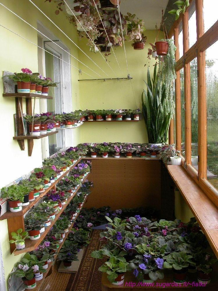 Полка на балкон под цветы своими руками 28