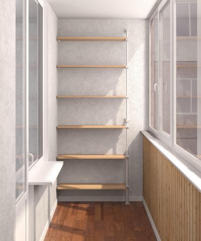 Как сделать шкаф на балкон лоджию своими руками.