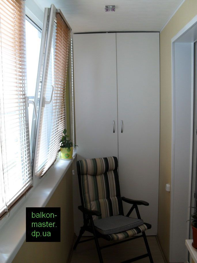 Готовые шкафы на балкон..