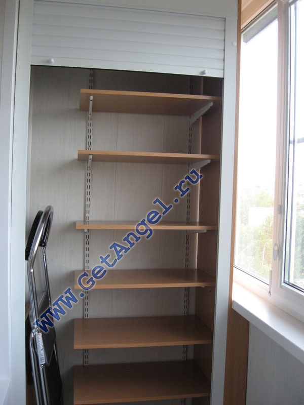 Конструкции шкафов для лоджий..