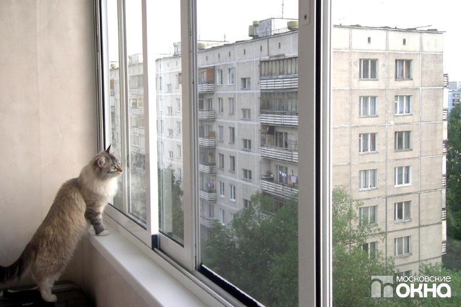 Утепление и остекление балконов московские окна..