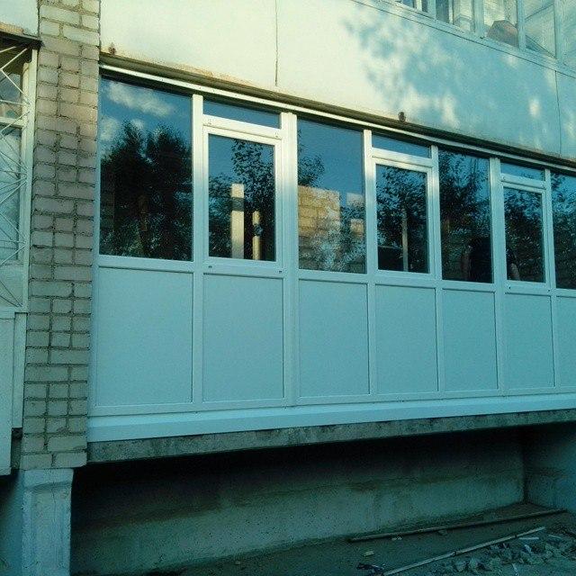 Лоджия 6 м. - пластиковые окна - каталог статей - мастер око.